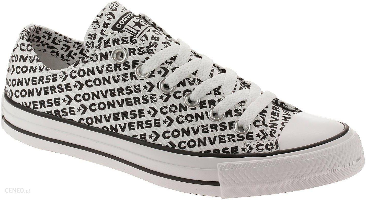 buty Converse Chuck Taylor All Star Wordmark OX 164020WhiteBlackWhiteBlackWhite 41