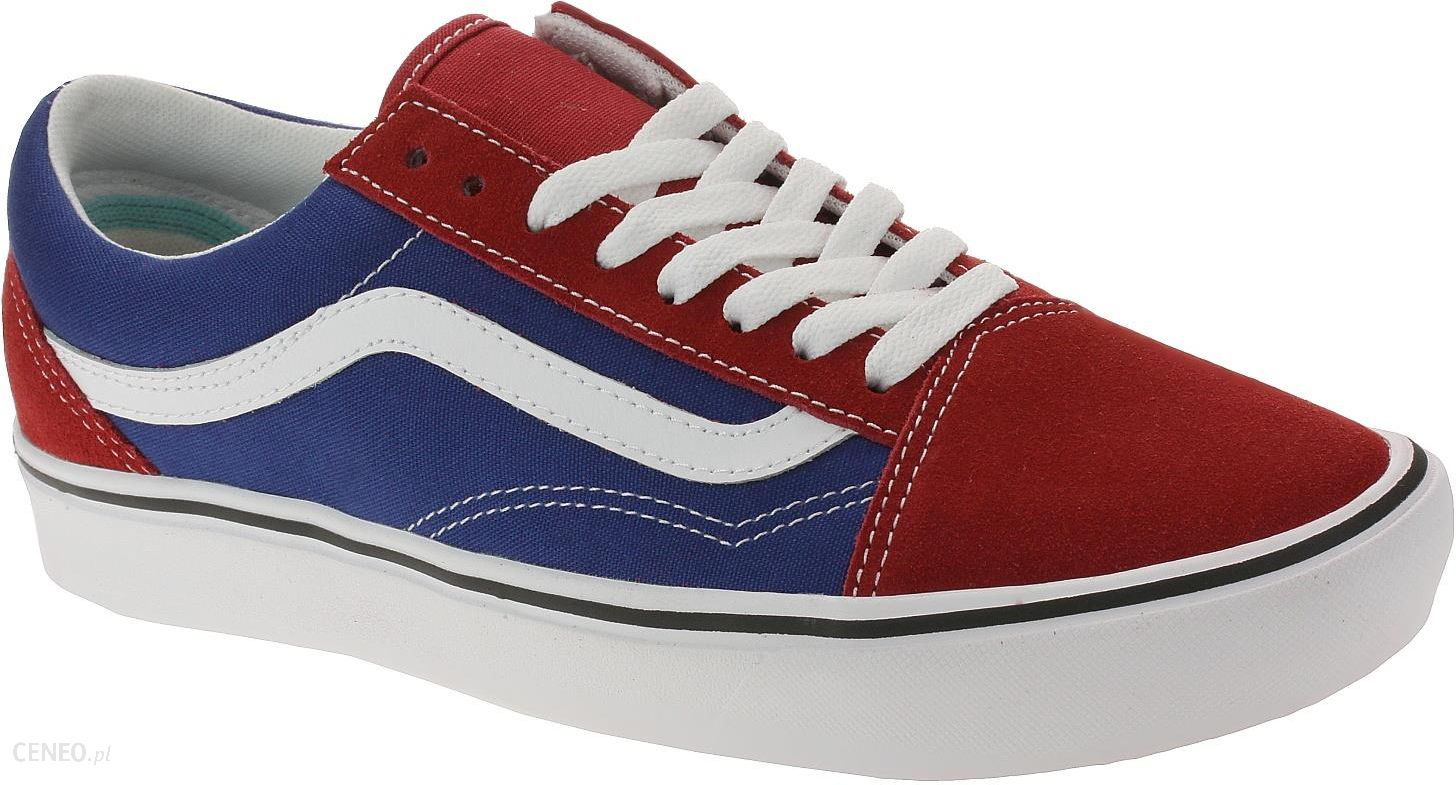 Buty Vans ComfyCush Old Skool Two ToneChilli PepperTrue Blue 41 Ceny i opinie Ceneo.pl