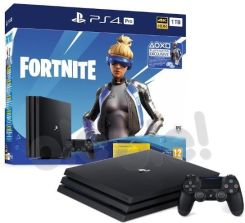 Produkt z Outletu: Sony PlayStation 4 Pro 1TB Fortnite Neo Versa Bundle