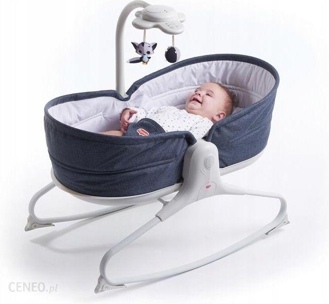 Tiny Love Wielofunkcyjny leżaczek-bujaczek z funkcją krzesełka 3w1 denim