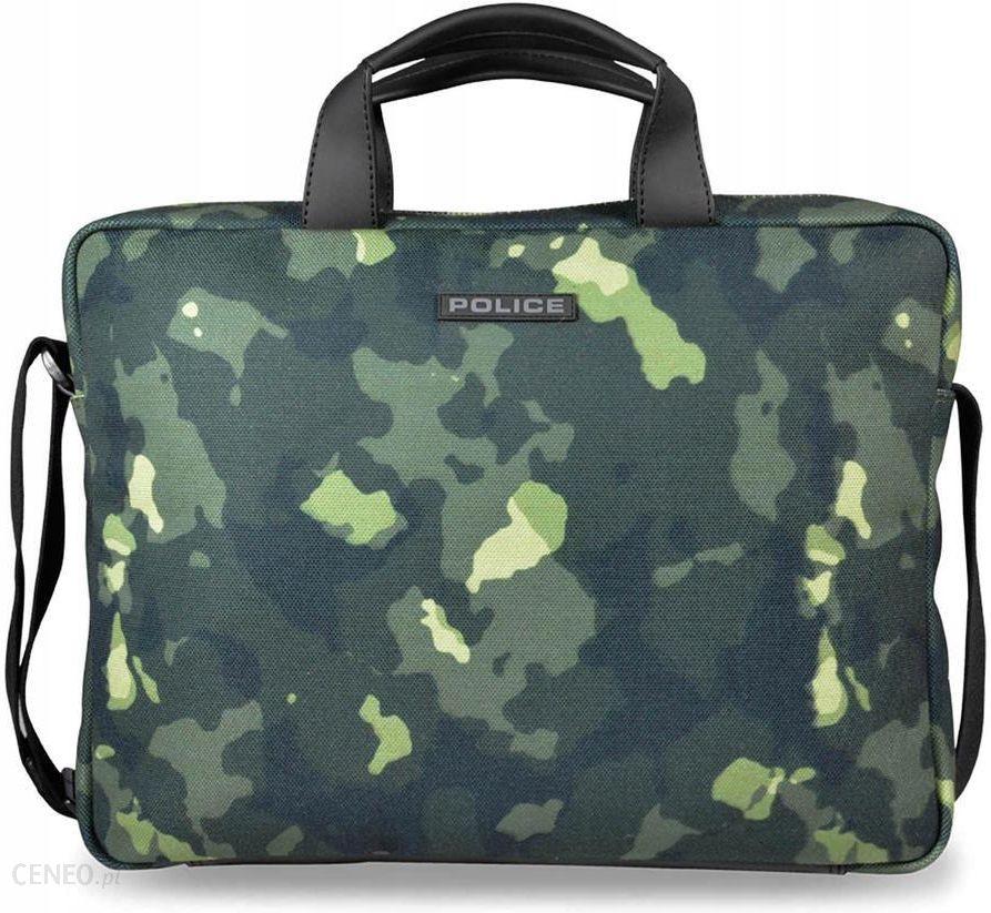 Police męska torba na laptopa teczka zielony Ceny i opinie Ceneo.pl