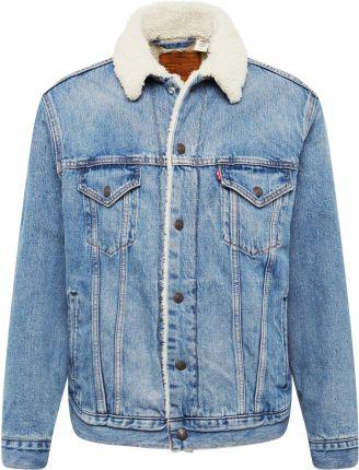 Niebieska kurtka męska przejściowa Denley 004A Ceny i