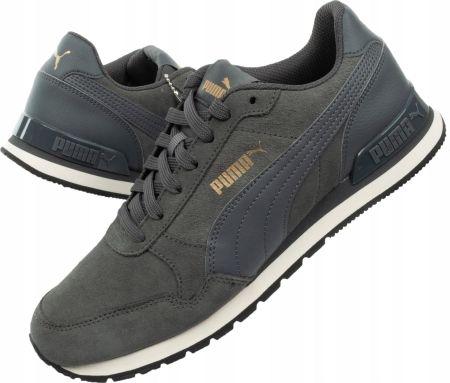 Granatowe Skórzane Buty Sportowe Puma r.42,5 Ceny i opinie