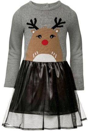Al Da Biała Sukienka Świąteczna 110 128 Ceny i opinie