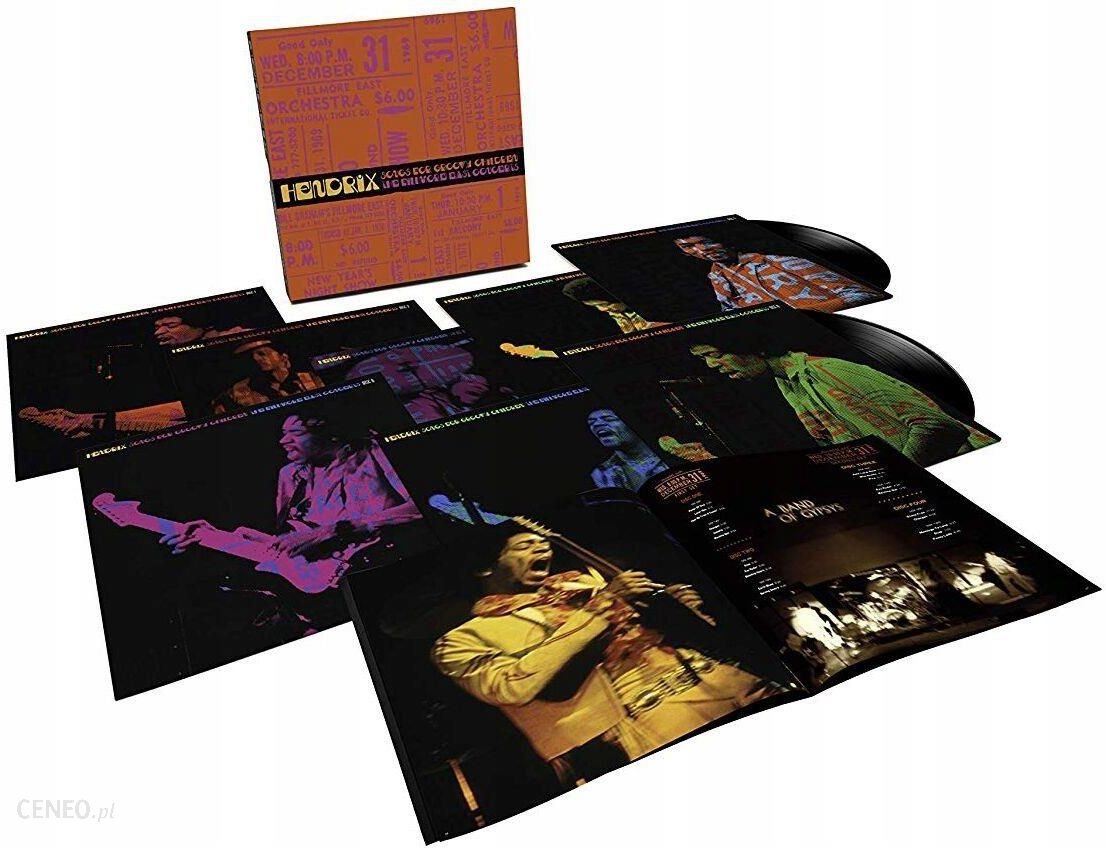Jimi Hendrix: Songs For Groovy Children: The Fillmore East Concerts (8xWinyl)