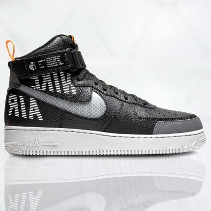 Męskie Nike AIR FORCE 1 Mid 315123 001 czarne 43 Ceny i opinie Ceneo.pl