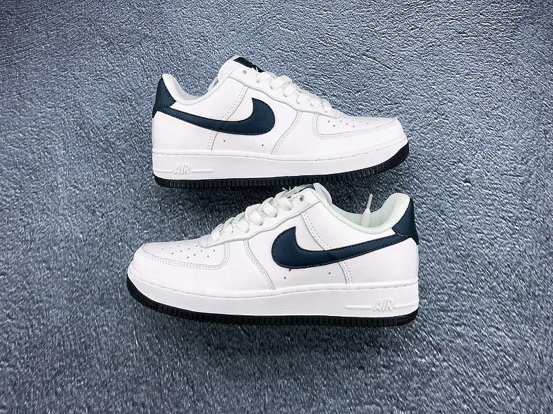 Buty Nike Air Force 1 Niska Męskie W Niebieskie
