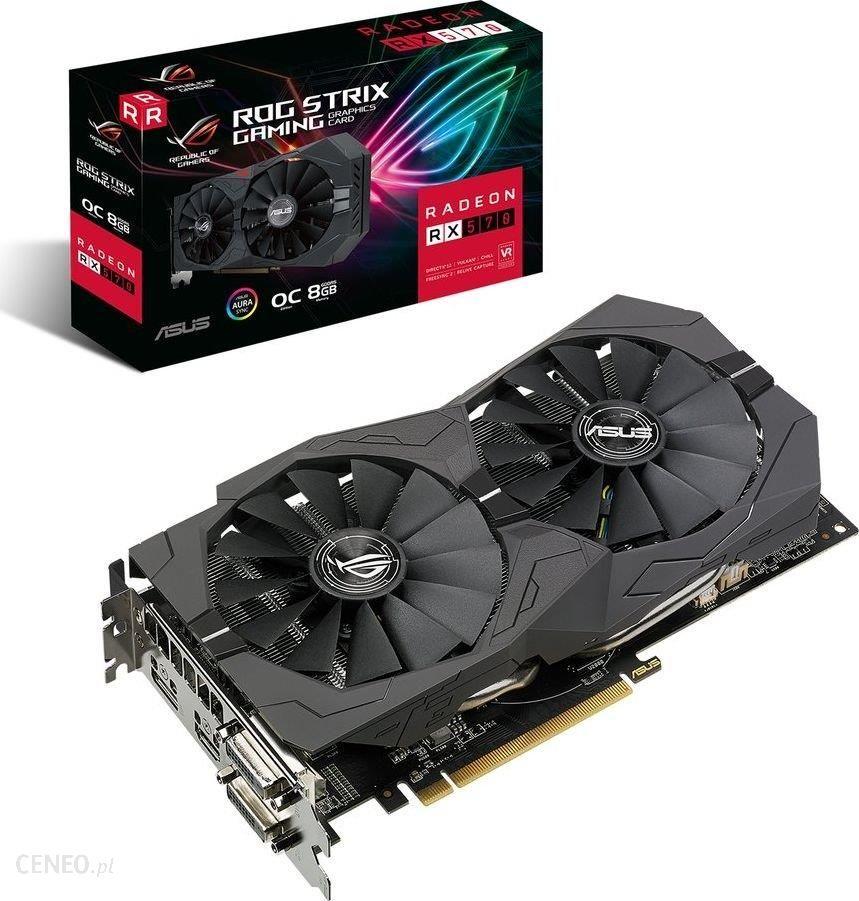 Asus Radeon RX 570 ROG STRIX OC GAMING (90YV0AJ8-M0NA00)