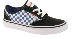 dziecięce buty Vans Atwood CheckerboardBlackBlue 32.5