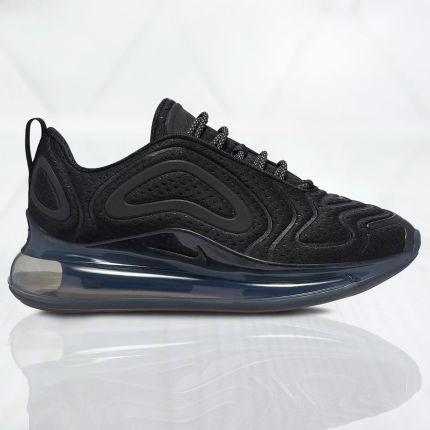 Nike Sportswear AIR MAX 90 SE MESH (GS) Tenisówki i Trampki black