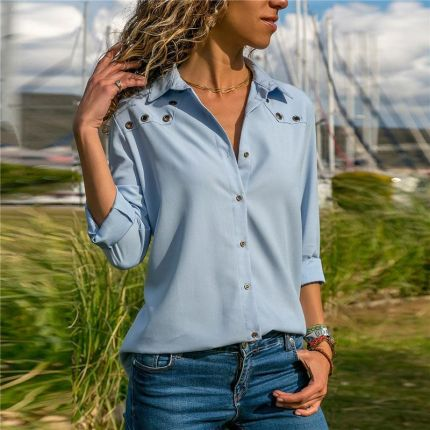 Elegancki bluzki damskie Moda i biżuteria Fashion and