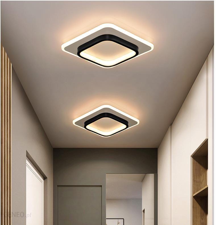 nowoczesne długie lampy sufitowe