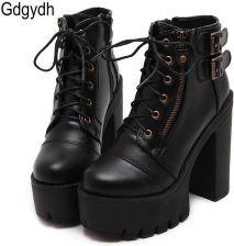 Buty damskie na platformie Moda i biżuteria Fashion and