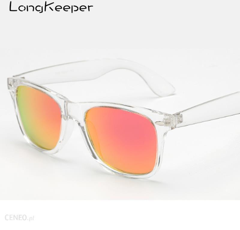 AliExpress LongKeeper spolaryzowane lustrzane okulary przeciwsłoneczne moda kobiety kwadratowe okulary Ceneo.pl