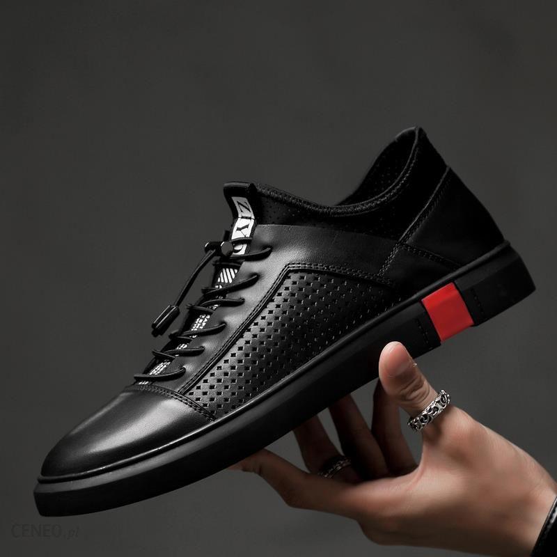 AliExpress Męskie oryginalne skórzane buty w stylu oxford luksusowej marki włoski styl obuwie męskie buty dla Ceneo.pl