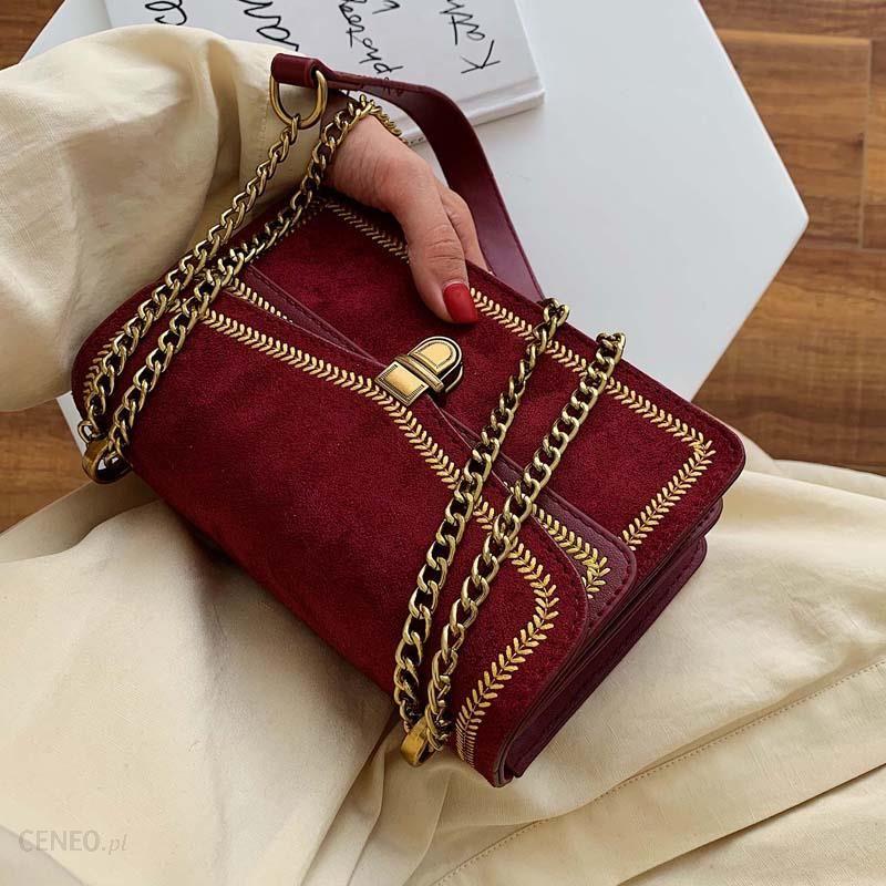 AliExpress Peeling skórzane Crossbody torby dla kobiet 2019 łańcuch torba na ramię pani podróży luksusowe Ceneo.pl