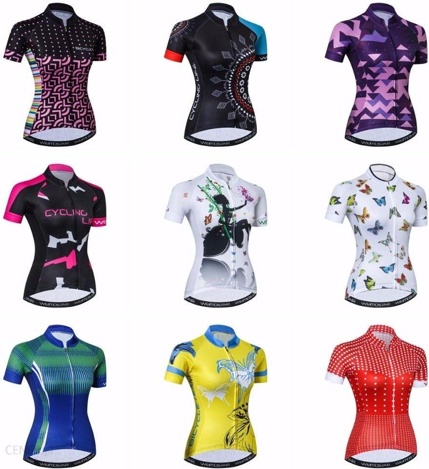 Aliexpress Koszulka Rowerowa Weimostar Damskie Koszulki Rowerowe 2019 Szosowe Rower Mtb Odziez Z Krotkim Ceneo Pl