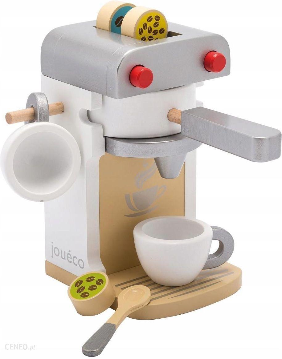 Joueco Drewniany Ekspres Do Kawy Deluxe