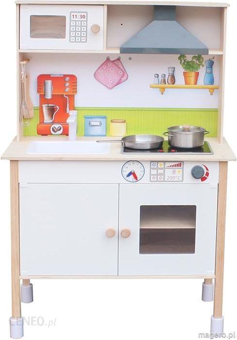 Zabawka Kuchnia Drewniana Dla Dzieci Junior Chef Enero Mini Ceny I Opinie Ceneo Pl