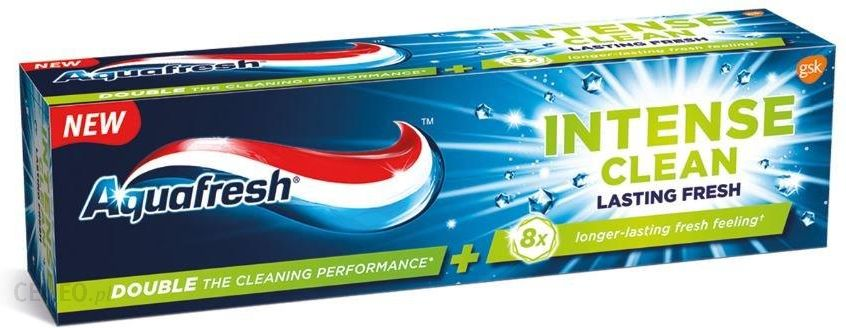 Aquafresh Intense Clean Lasting Fresh Pasta do zębów 75ml