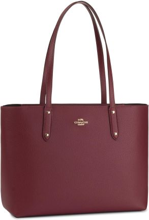 Torebka COACH - Pbbl Cen Tot Zip 69424 GDDPR GD/Deep Red