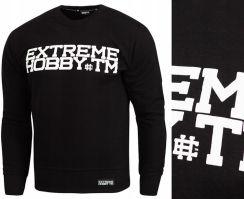 bluza extreme hobby block czarna prosta