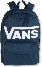 Plecak VANS Old Skool II Delft Colorblock niebieski z kolorową kieszenią
