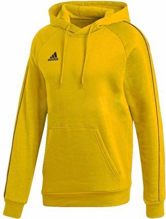 ADIDAS chłopięca bluza z kapturem szara żółta 128