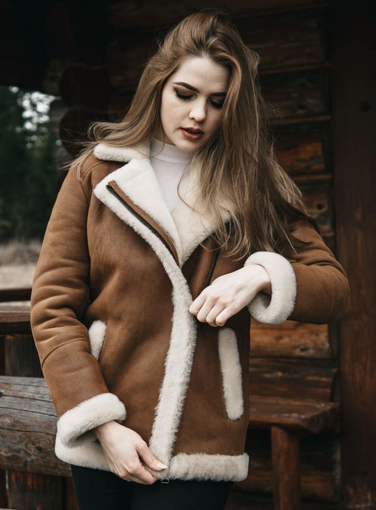 Kożuch Damski zimowy PROMOCJA Zdjęcie na imgED