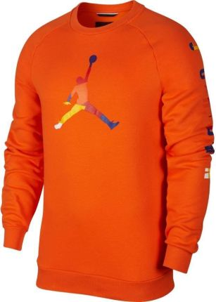 bluza nike air jordan the varsity graphic crew