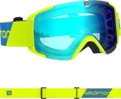 GOGLE SALOMON XT ONE Neon Yellow Solar Blue 2020