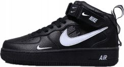 NIKE AIR FORCE 1 MID 07 WYSOKIE CZARNE r.44