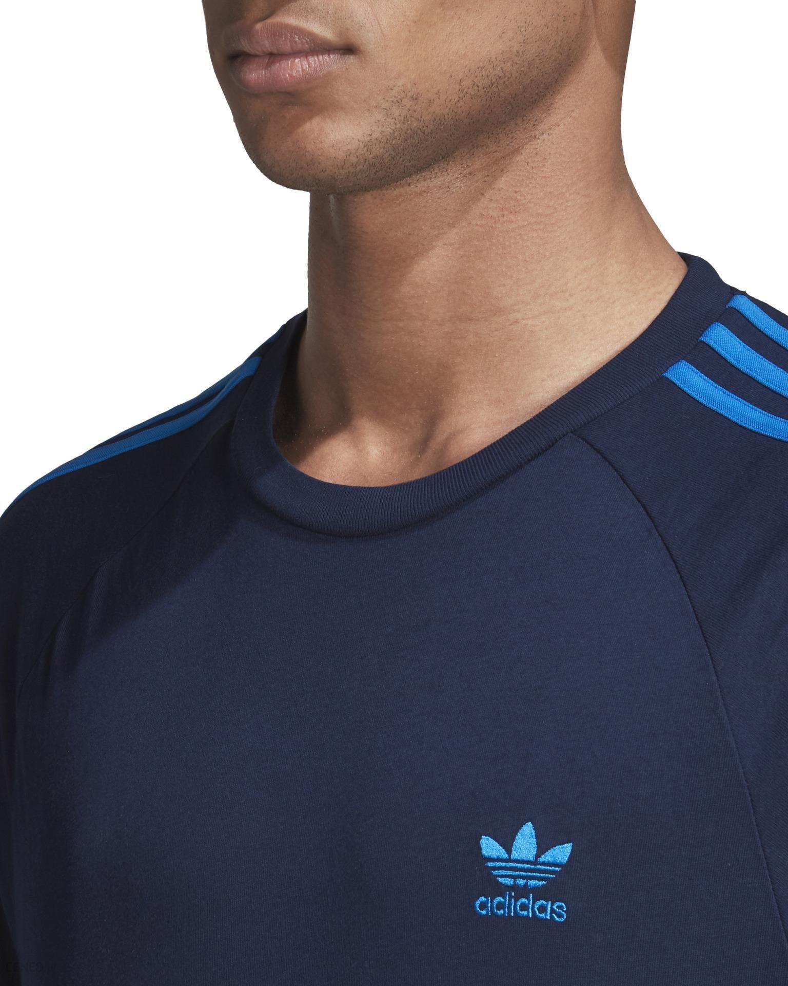 Adidas Originals 3 Stripes Koszulka Niebieski L Ceny i opinie Ceneo.pl