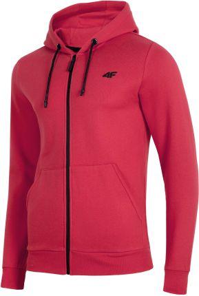 Nike Air – Czerwono czarna bluza z blokami kolorów i okrągłym dekoltem