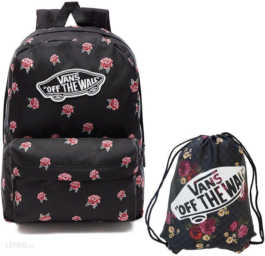 Vans Realm Black & Rose Vn0A3Ui6Rdu +