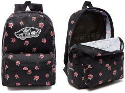 Plecak Vans Realm Black & Rose Backpack Vn0A3Ui6Rdu Ceny i
