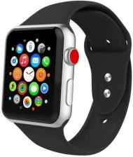 TECH-PROTECT SMOOTHBAND APPLE WATCH 1/2/3/4 (42/44MM) BLACK - Black