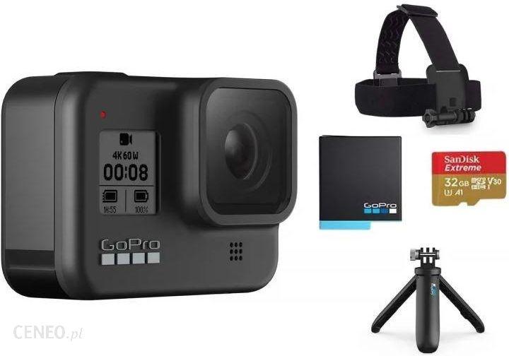 Kamera Sportowa Gopro Hero8 Black Zestaw Akcesoriow Chdrb 801 Opinie I Ceny Na Ceneo Pl