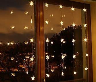 Kurtynka Na Okno Gwiazdki 25 Led Lampki 21 618 Opinie I Atrakcyjne Ceny Na Ceneo Pl