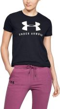 Under Armour T Shirt Graphic Sportstyle Classic Crew 002 Black Onyx White Black