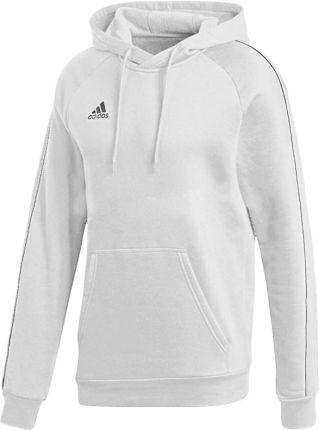 bluza biała z kapturem adidas