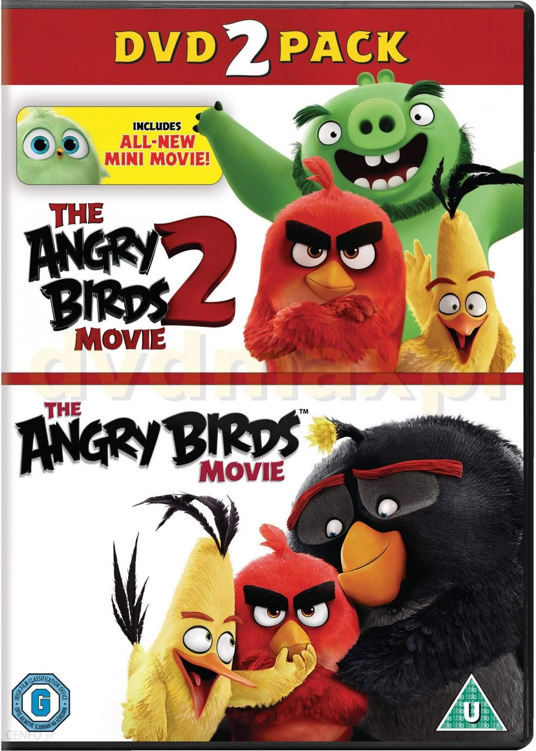Film Dvd The Angry Birds Movie 1 2 2dvd Ceny I Opinie Ceneo Pl