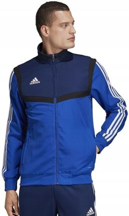 Adidas Bluza Męska Dresowa Rozpinana Niebieska XL