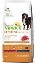 Karma dla psa Trainer Natural Sensitive No Gluten Adult Medium Maxi Jagnięcina 12Kg - zdjęcie 1