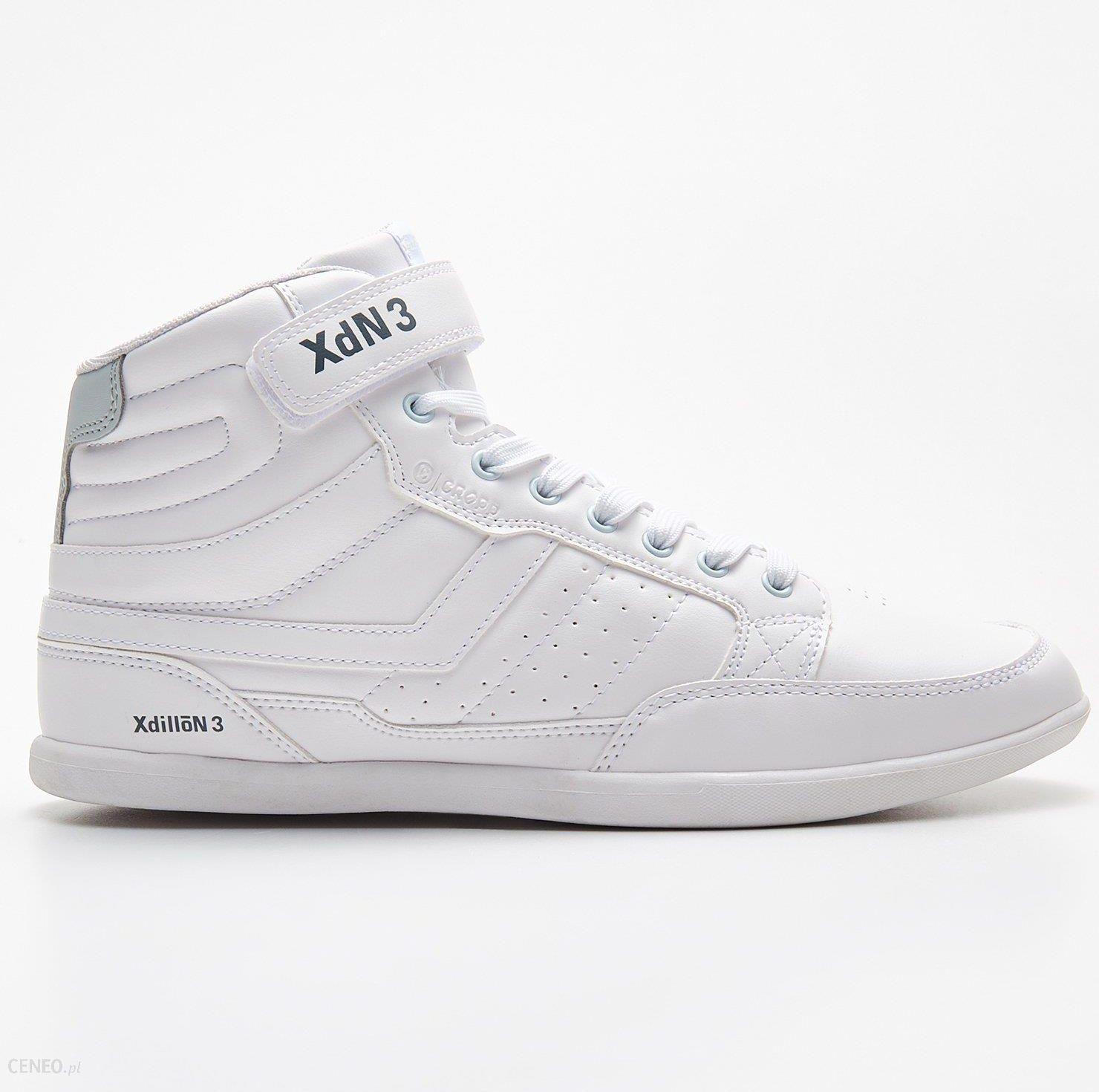 Sneakersy Biały Białe sneakersy męskie Cropp, bez