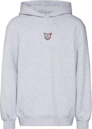 Bluza Huf Sweatshirt Original Logo Fleece grey Ceny i