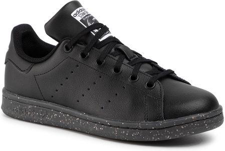 Buty Damskie adidas Stan Smith J M20604 Czarne Ceny i opinie Ceneo.pl