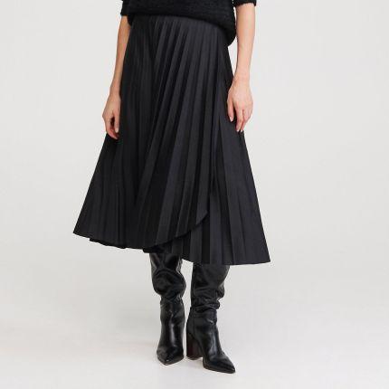 Czarna plisowana spódnica Moda damska Ceneo.pl