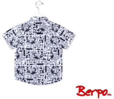 Darex Biała koszula młodzieżowa krótki rękaw 152 188 k04  FkKZZ