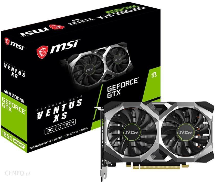 """""""MSI GeForce GTX 1650 Super Ventus XS OC 4GB"""""""